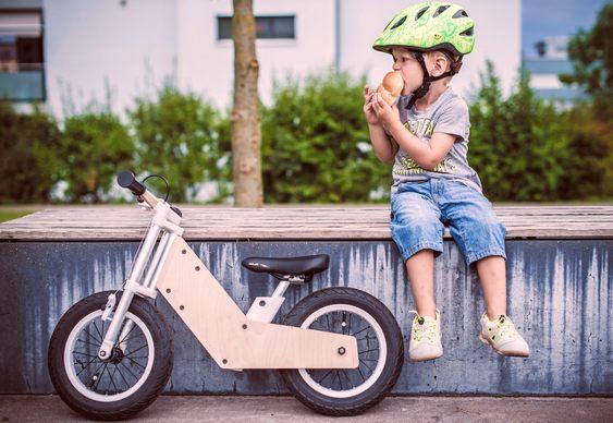 Bike para crianças de 2 anos e meio até 7 anos de idade