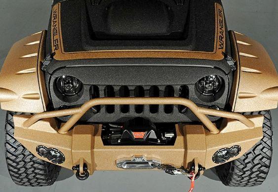 Jeep Wrangler de duas cores