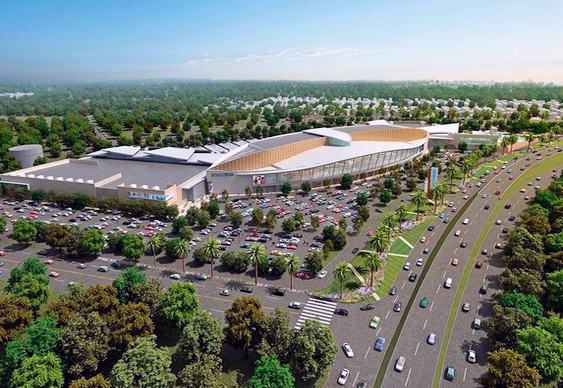 Centros comerciais em cidades médias