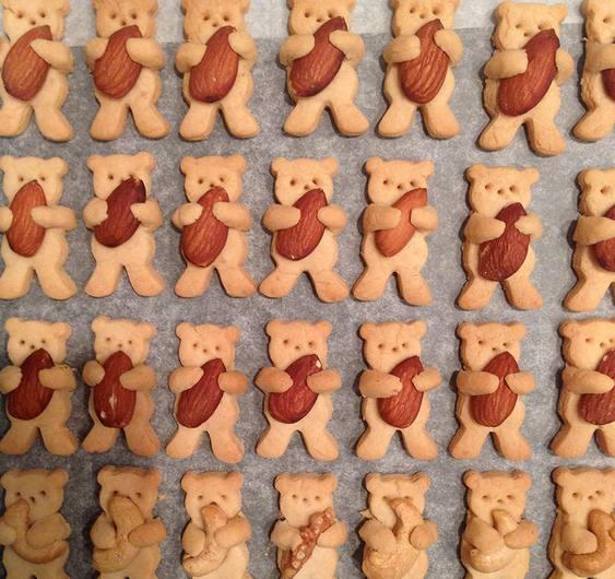 Biscoitinhos de ursos