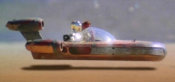 Nave inflável de Star Wars