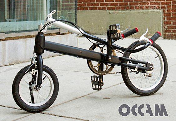 Bicicleta para pedalar em pé