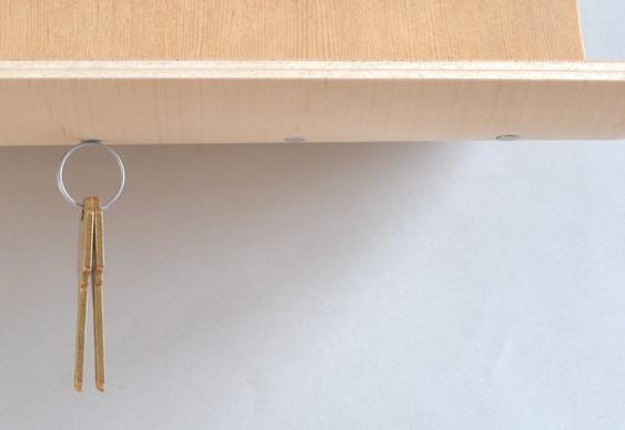 Suporte para chaves com ímãs