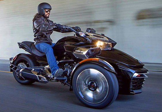Triciclo BRP Can-Am 2015 Spyder F3