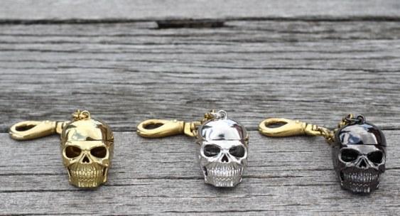 Crânio de metal