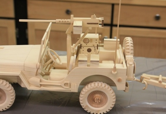 Jeep Willys MB II Guerra Mundial