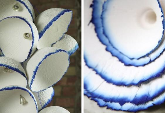 Artesanato com papel reciclado