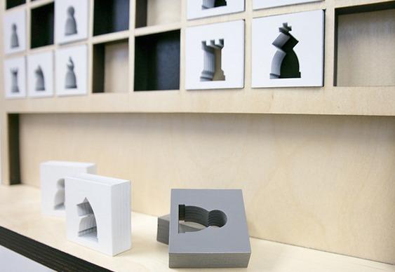 Ideia de modelos de peças para xadrez
