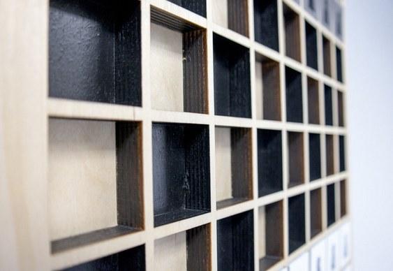 Como fabricar tabuleiro de xadrez de parede