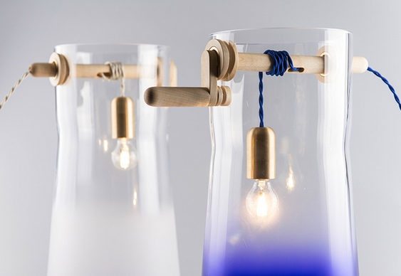 Design de luminária de mesa