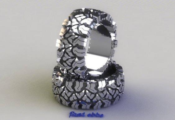 Miniaturas de pneus de jipe