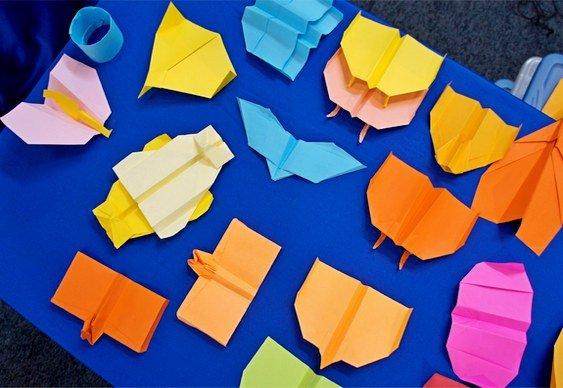 Gaivota de papel