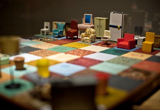 Jogo de xadrez artesanal e educativo