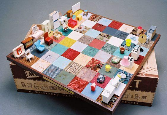 Tabuleiro e peças de xadrez