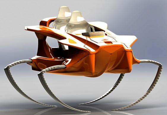 Quadrofoil speedboat