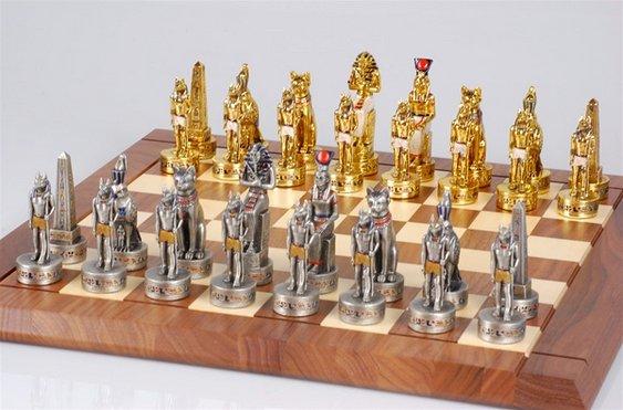 Faraós no jogo de xadrez