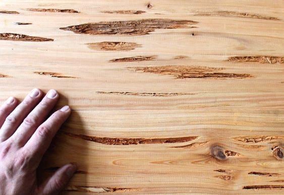 O que fazer com madeira cheia de imperfeições