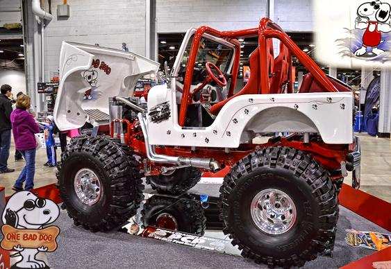 Jeep Willys branco