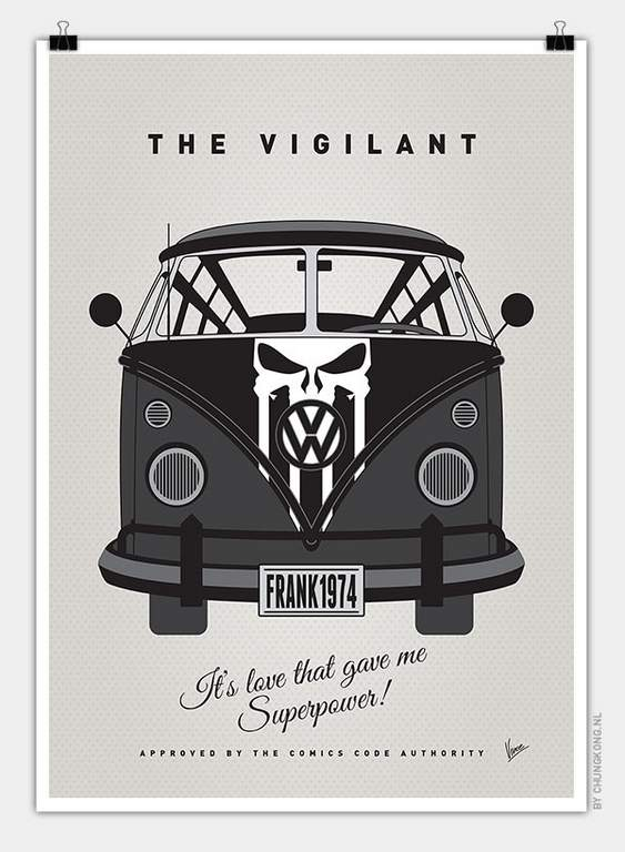VW Bus The Punisher