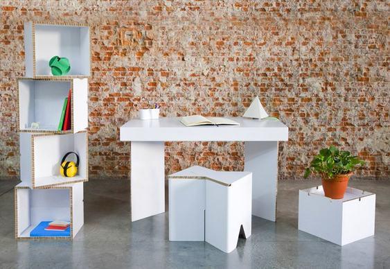 Mobiliário para feiras e escritórios