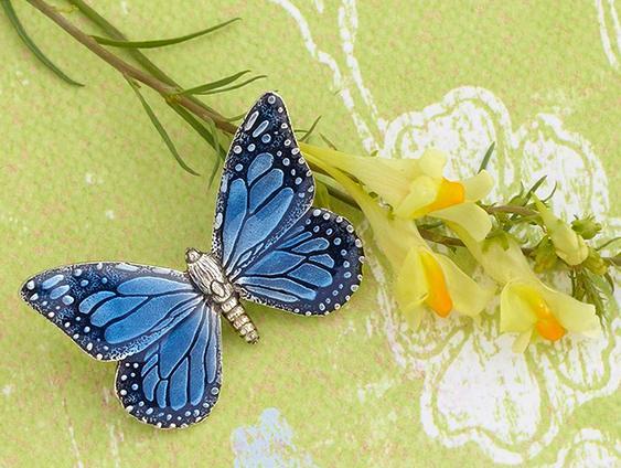 Joia com borboleta