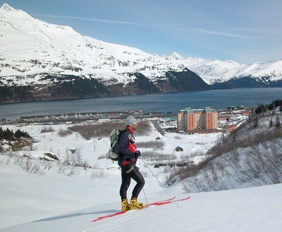 Esqui na geleira