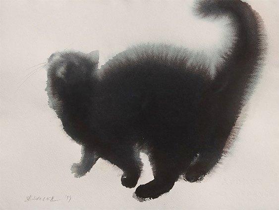 Arte com felinos