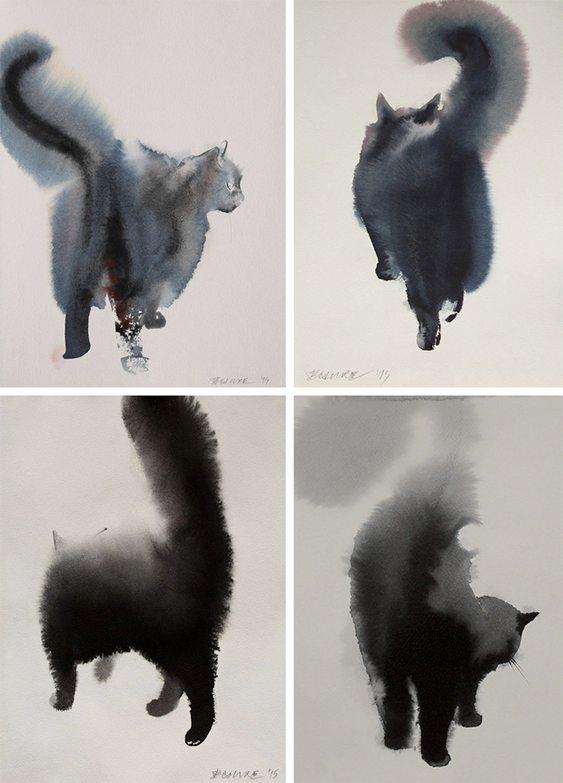 Pinturas de gatinhos