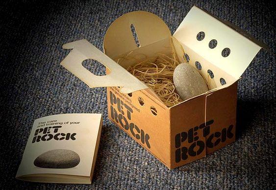 Pet Rocks de Gary Dahl