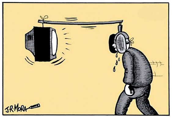Charge Rede Globo