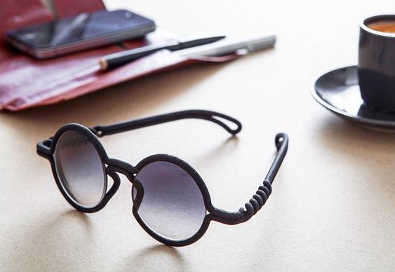 Novo design de óculos