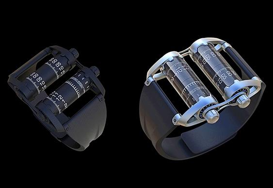 Relógios de cilindro