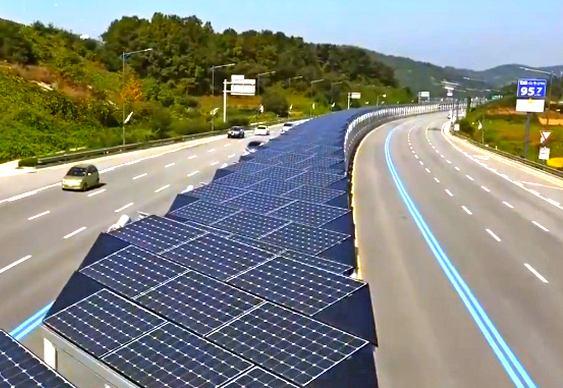 Divisória de rodovia coreana