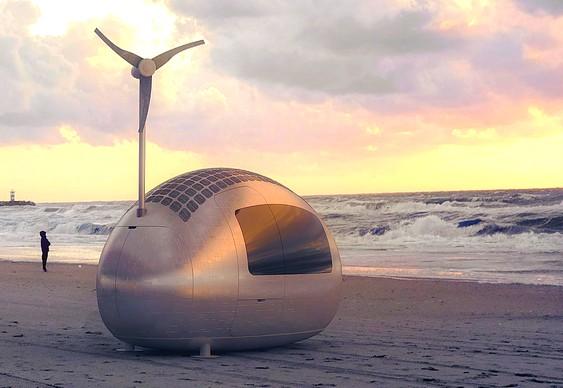 Trailer capta energia dos ventos