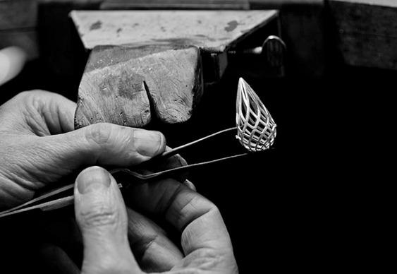 Fabricação de joias