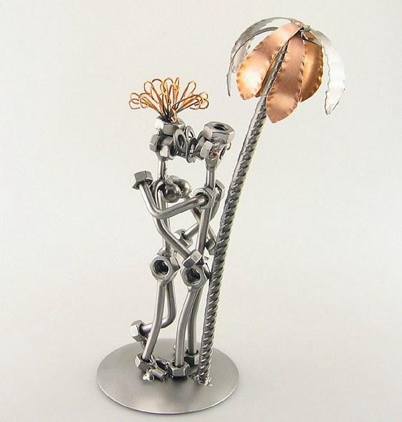 Esculturas de aço