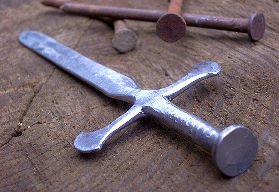 Fabricação de réplica de Excalibur