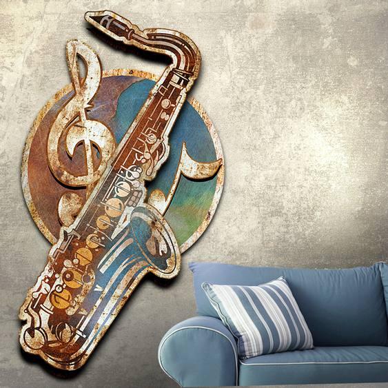 Placa musical vintage