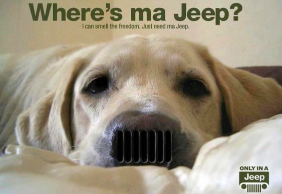 Propaganda de Jeep