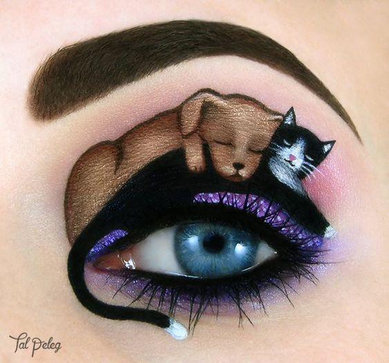 Arte da maquiagem