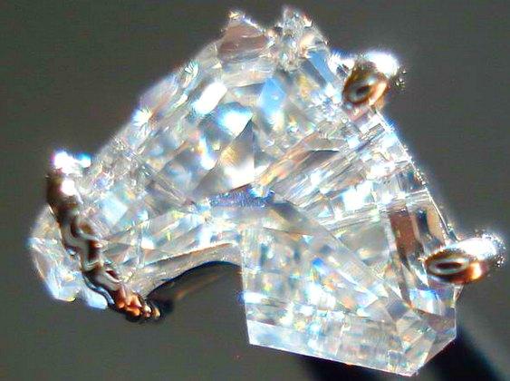 Lapidação diamante cavalo