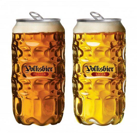 Nova embalagem de cerveja