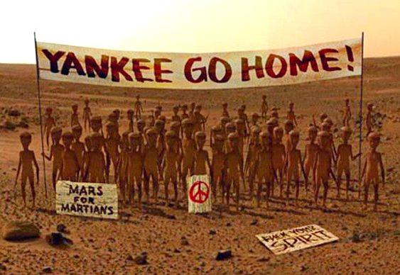 Marte para os marcianos