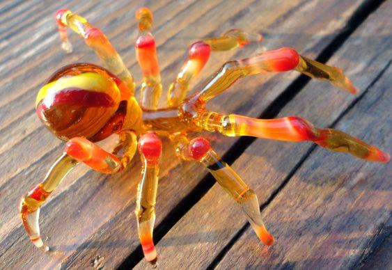 Escultura de aranha