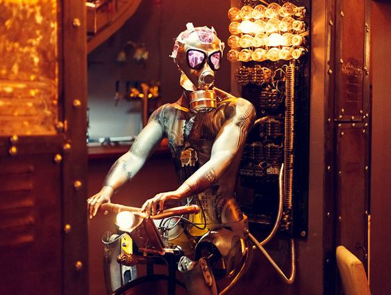 Bar Steampunk Enigma