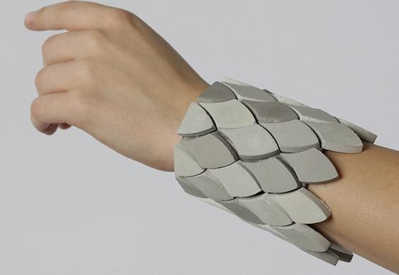 Bracelete de concreto