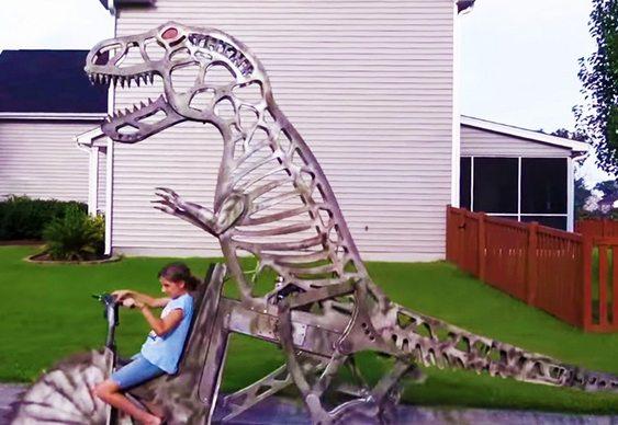 Dinossauro móvel