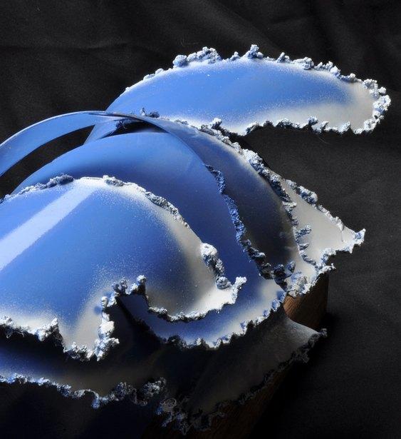 Escultura de onda