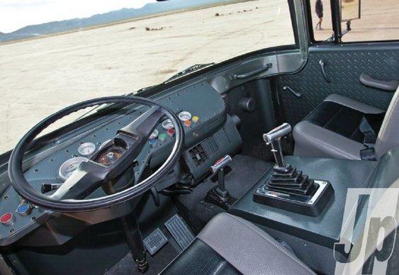 Painel de Jeep