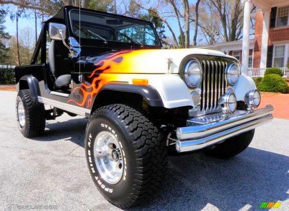 Custom paint Jeep CJ5